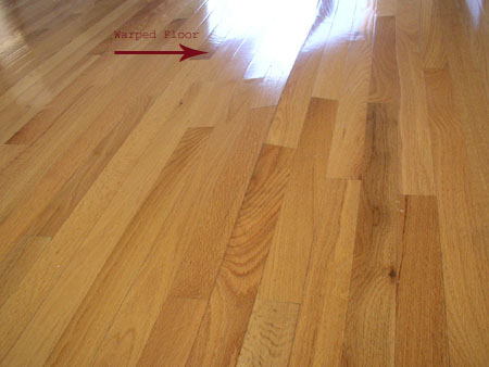 The Wood Floor Doctor Repairs Wood Flooring